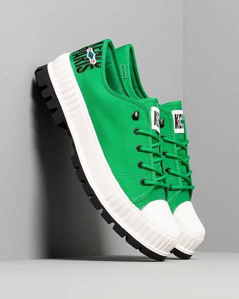 Zelené tenisky Kenzo