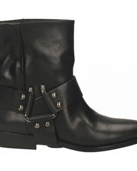 Čierne topánky Kobra