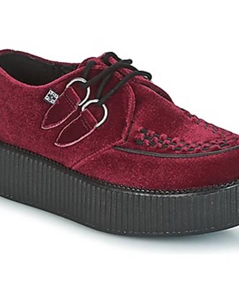 Bordové topánky TUK