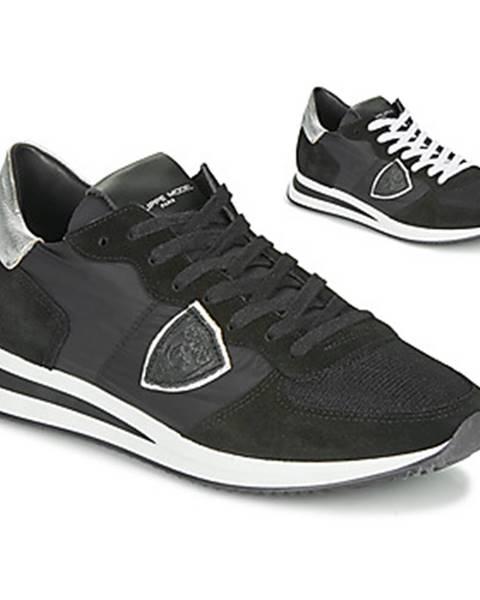 Čierne tenisky Philippe Model