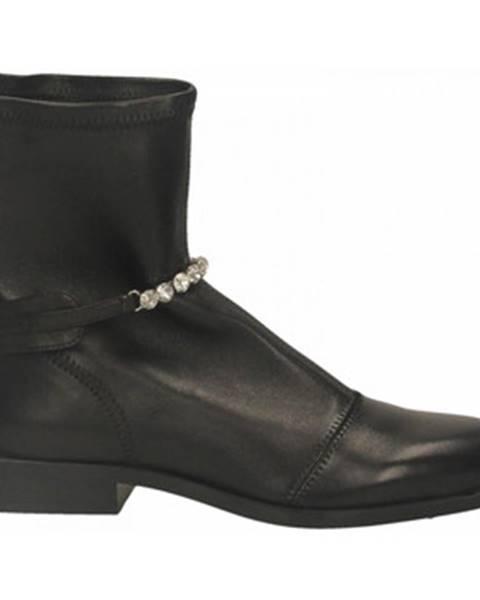 Čierne topánky Ermanno Scervino