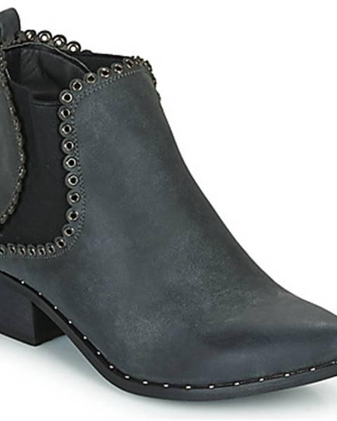 Čierne topánky Spot on