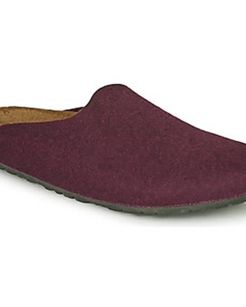 Bordové topánky Birkenstock