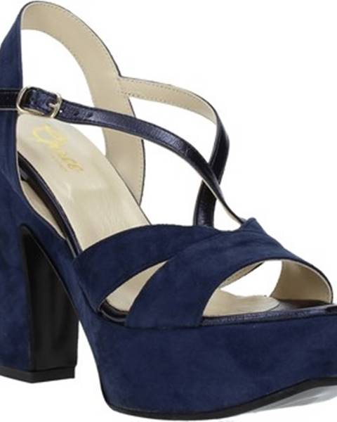 Modré sandále Grace Shoes