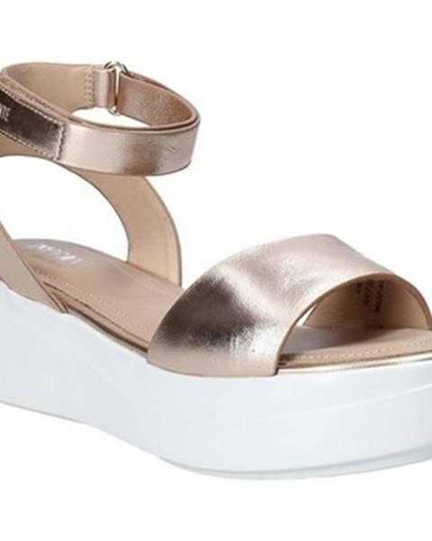 Ružové sandále Impronte