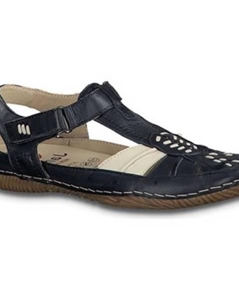 Viacfarebné sandále Jana
