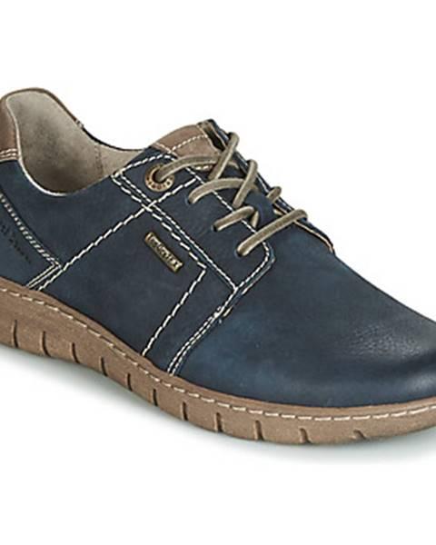 Modré topánky Josef Seibel
