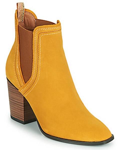 Žlté topánky Tamaris