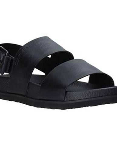 Čierne sandále Calvin Klein Jeans