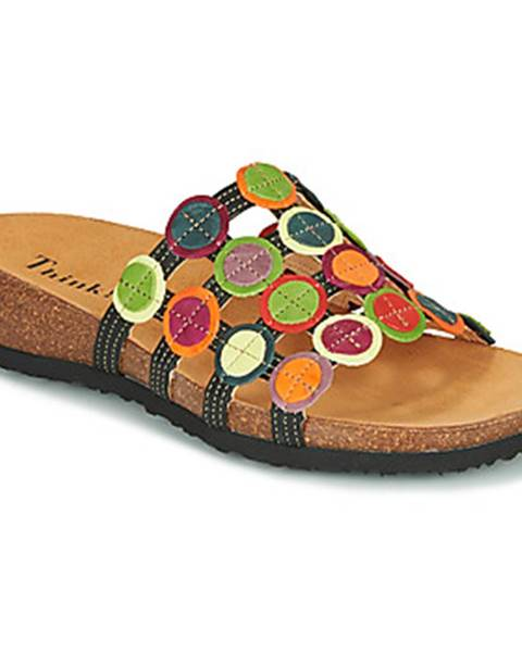 Žlté sandále Think