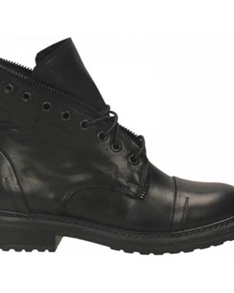 Čierne topánky Anima
