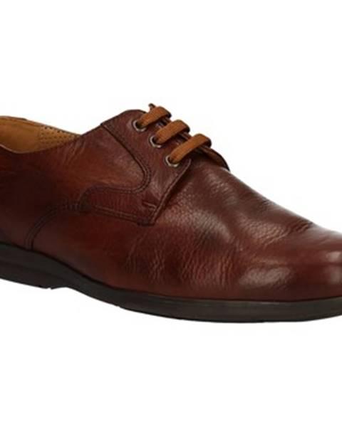 Hnedé topánky Fontana