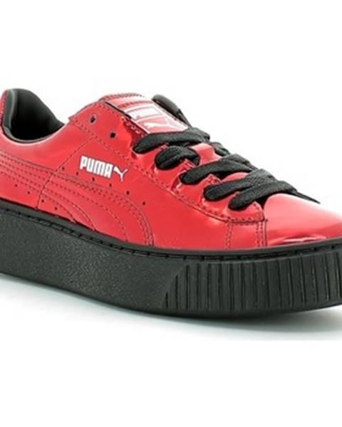 Červené tenisky Puma
