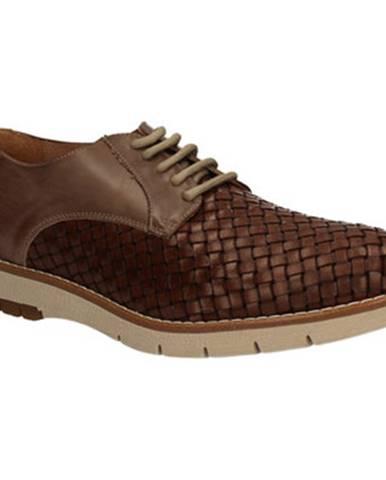 Hnedé topánky Keys