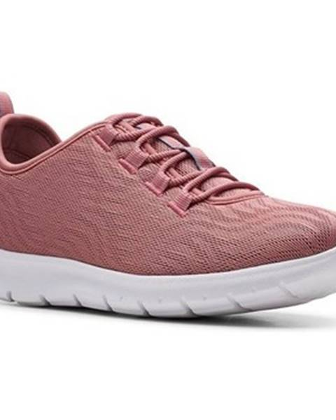 Ružové tenisky Clarks