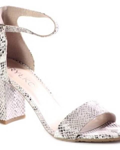 Viacfarebné sandále Ryłko