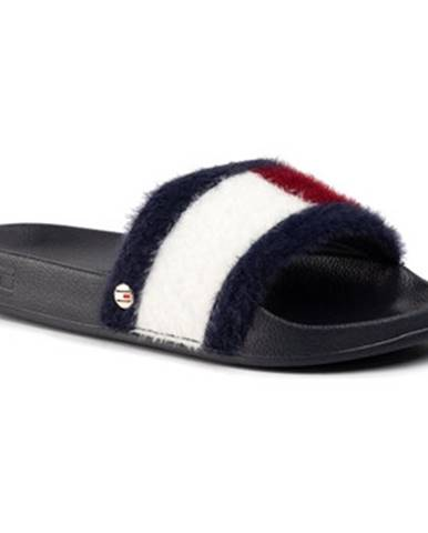 Modré topánky Tommy Hilfiger