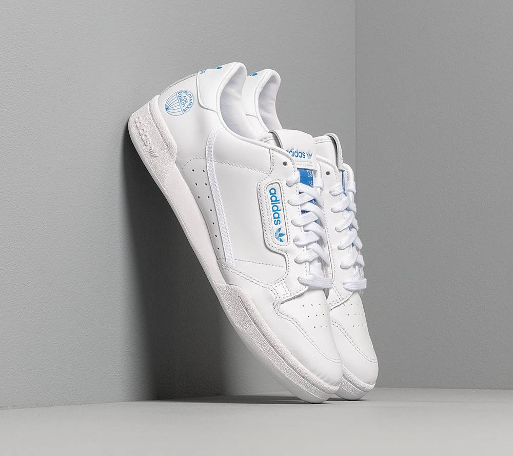 adidas Originals adidas Continental 80 Ftw White/ Ftw White/ Blue Bird