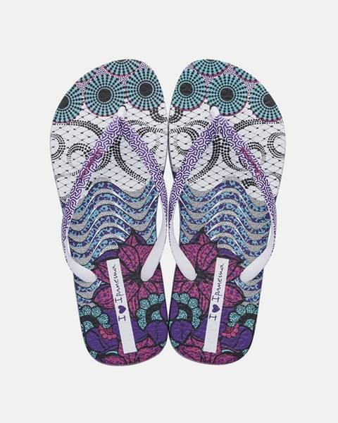 Fialové papuče Ipanema
