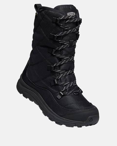 Čierna zimná obuv Keen