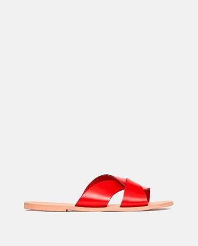 Červené papuče Dorothy Perkins