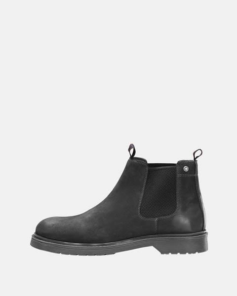 Čierne topánky Jack & Jones