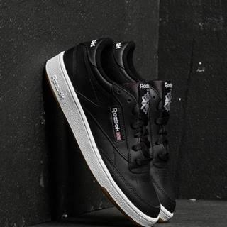 Club C 85 Black/ White/ Gum
