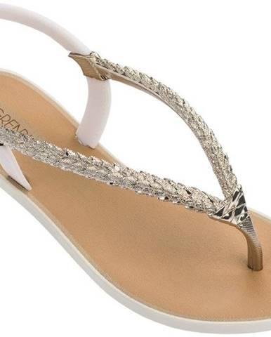 Béžové papuče Grendha