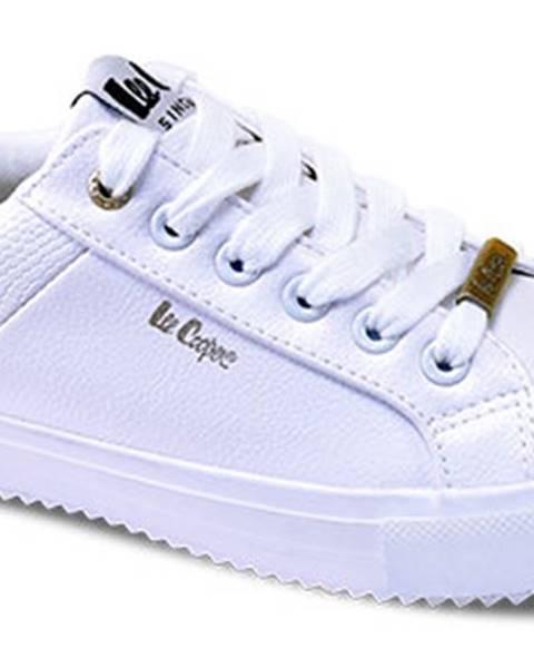 Biele tenisky lee cooper