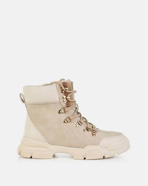 Béžové topánky musk