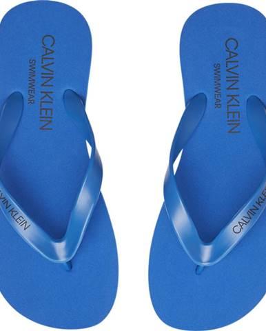 Modré sandále Calvin Klein