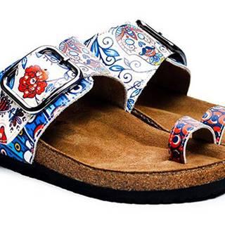 Calceo modré šľapky Thong Sandals Blue Dream