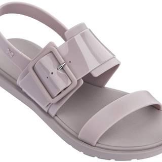 Zaxy sivo-fialové sandále Rush Sand Fem Nude