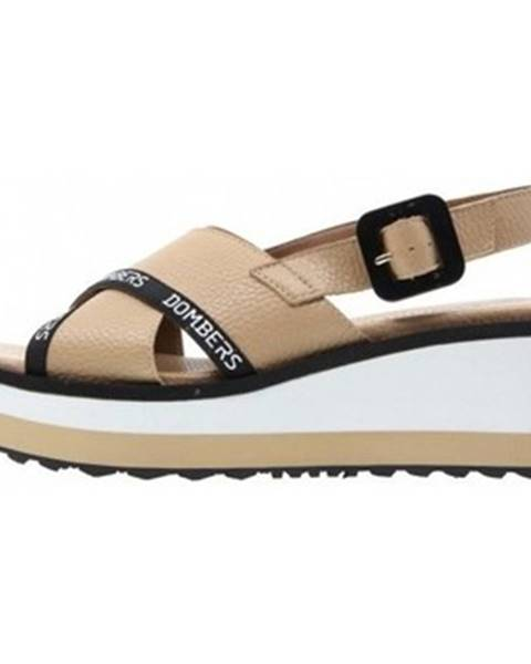 Béžové sandále Dombers