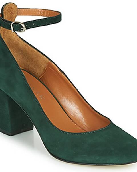 Zelené lodičky Jonak