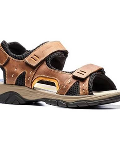 Hnedé sandále Stonefly