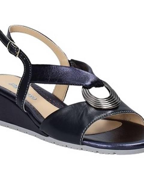 Modré sandále Melluso