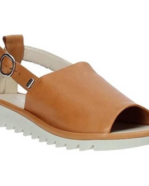 Hnedé sandále Valleverde