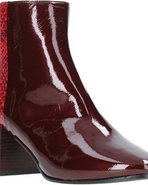 Červené topánky Grace Shoes
