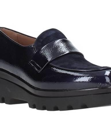 Modré mokasíny Grace Shoes