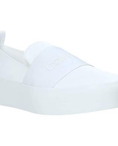 Biele espadrilky Calvin Klein Jeans
