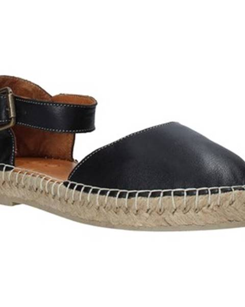 Čierne sandále Bueno Shoes