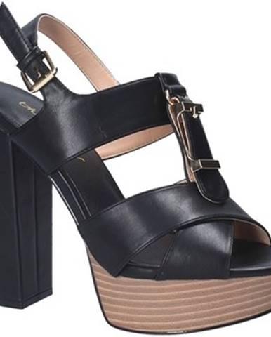 Čierne sandále Byblos Blu