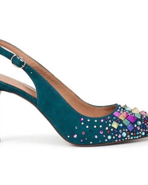 Modré sandále Alma En Pena