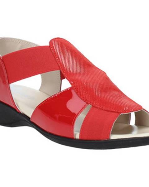 Červené sandále Susimoda