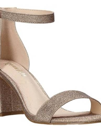 Zlaté sandále Gold gold