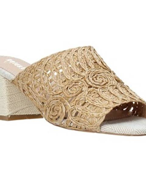 Béžové topánky Gold gold