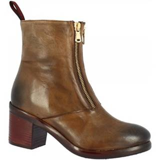 Polokozačky Leonardo Shoes  35165/18 PAPUA ALPACA