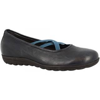 Balerínky/Babies Leonardo Shoes  513 STROPICCIATO BLUE