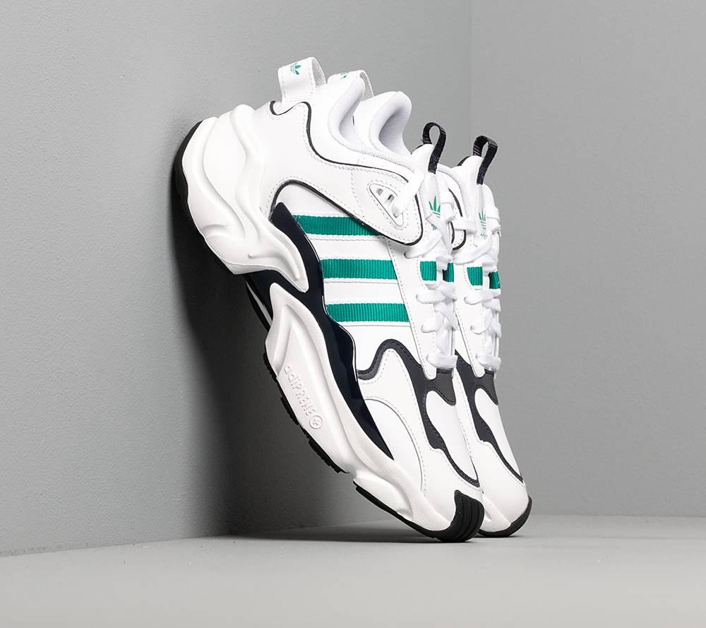 adidas Originals adidas Magmur Runner W Ftw White/ Glow Green/ Legend Ink